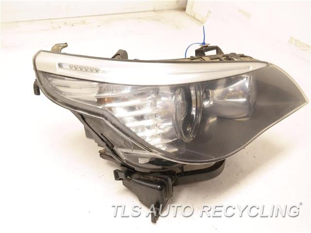 2008 Bmw M5 Headlamp Assembly NEED BUFF, GLASS HAS HEAT STRESS CRACKS RH,(XENON HID, ADAPTIVE HEADLAMPS)