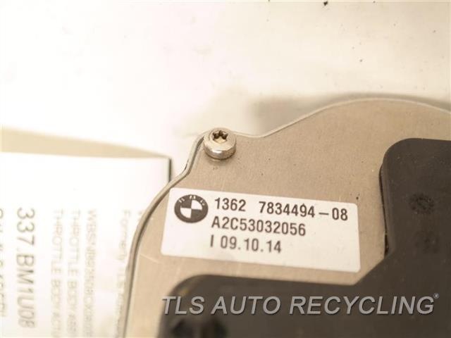 2008 Bmw M5 Throttle Body Assy  THROTTLE BODY ACTUATOR 13627834494