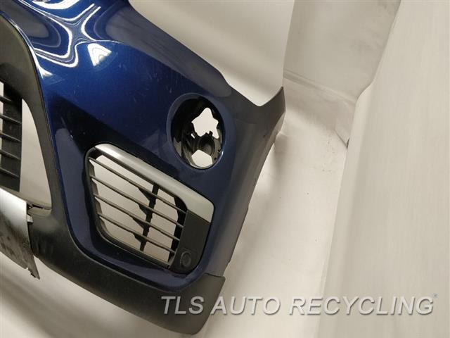 2016 Bmw X1 Bumper Cover Front SCUFFS LOWER SECTION  000,BLU,W/GRILLES,W/LIGHTS,PARK ASS