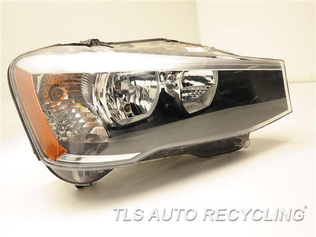 2015 Bmw X3 Headlamp Assembly 63117334074 PASSENGER SIDE HEADLAMP HALOGEN