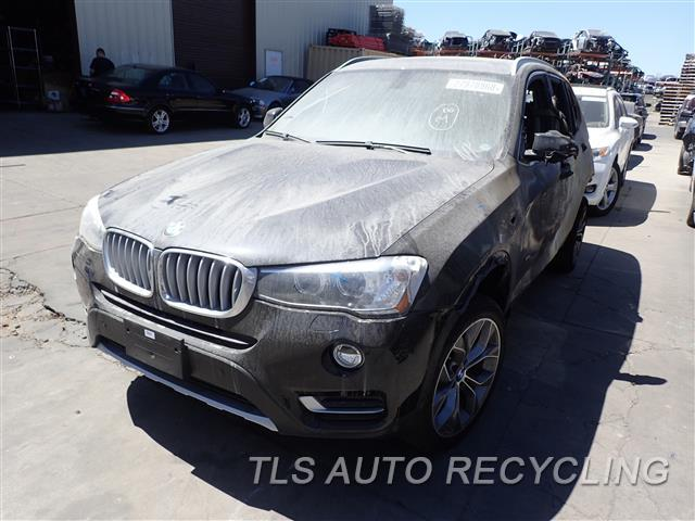 Parting Out 2016 Bmw X3 Stock 8355gy Tls Auto Recycling