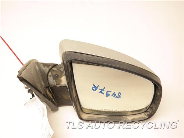 2009 Bmw X6 Side View Mirror Rh Slv Pm Power Automatic Dimming