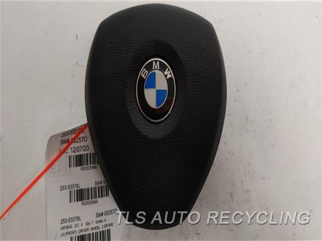 2011 Bmw X6 Air Bag  LH,(FRONT), DRIVER, WHEEL, 3 SPOKE