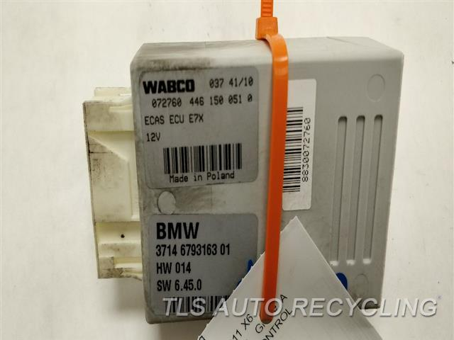2011 Bmw X6 Chassis Cont Mod MODULE 37146778966 37146793163 AIR SUSPENSION CONTROL
