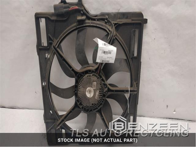 2011 Bmw X6 Rad Cond Fan Assy ON DAMAGED CLIP BACK SIDE OF SHROUD FAN ASSEMBLY, (RADIATOR), 850 WATT