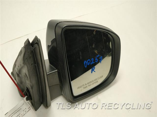 2011 Bmw X6 Side View Mirror  RH,BLK,PM,POWER, AUTOMATIC DIMMING