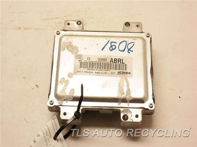 2015 Chevrolet Trax Eng/motor Cont Mod  12656958 ENGINE CONTROL COMPUTER