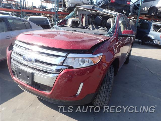 Ford Edge Red Black Passenger Side Damage