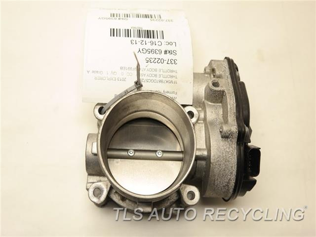 2013 ford explorer throttle body assy - at4e9f991eb - used - a grade.