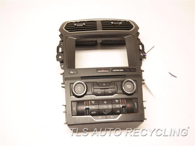 2017 Ford Explorer Radio Audio / Amp GB5T-18A802-ED TEMPERATURE/AUDIO CONTROL PANEL