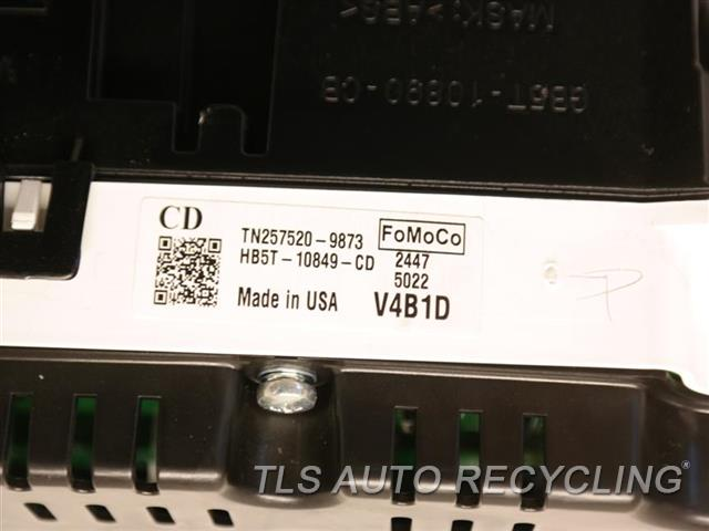 2017 Ford Explorer Speedo Head/cluster  SPEEDOMETER HB5T-10849-CD