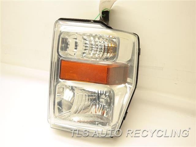2009 Ford F250sd Headlamp Assembly 7C3Z13200B   PASSENGER HALOGEN HEADLAMP