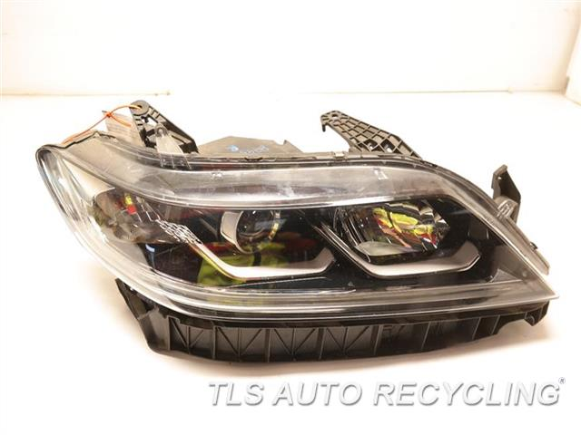 2016 Honda Accord Headlamp Assembly ONE UPPER TAB GLUED  RH,(US MARKET), CPE,HALOGEN, LED,NIQ