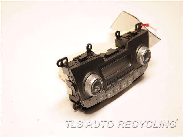 2011 Honda Odyssey Temp Control Unit 79600TK8A010M1 GRY,DASH, LX (MANUAL FAN CONTROL)