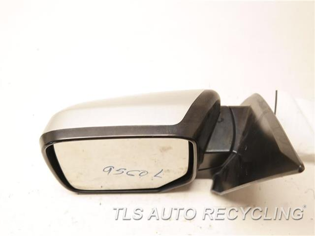 2009 Honda Pilot Side View Mirror  LH,SLV,PM,POWER, NON-HEATED, W/O TU