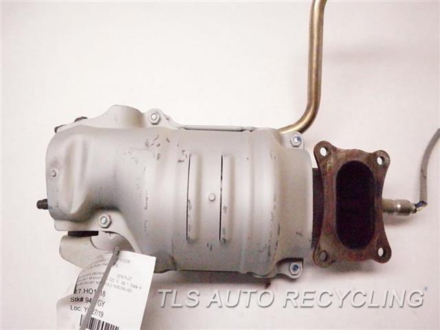 2018 Honda Pilot Exhaust Manifold  LH. EXHAUST MANIFOLD 18280-5MJ-A00