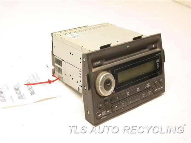 2007 honda ridgeline radio audio amp 391001030 used. Black Bedroom Furniture Sets. Home Design Ideas