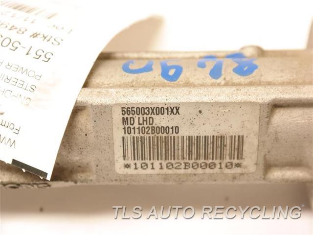 2011 Hyundai Elantra Steering Gear Rack  POWER RACK & PINION,ELECTRIC ASSIST