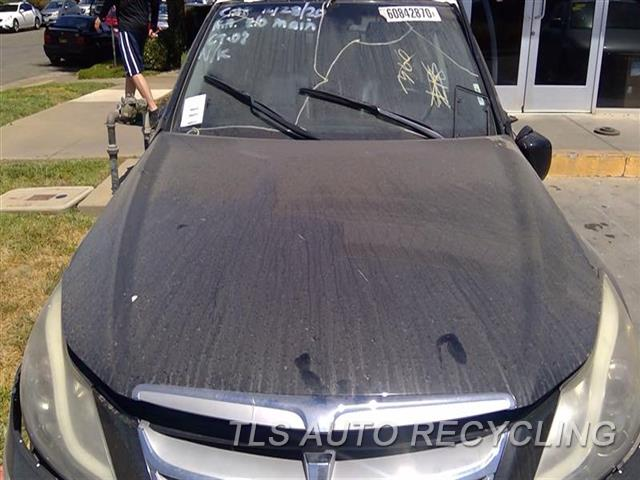 2012 Hyundai Genesis Hood SCRATCHES ALL OVER 5S2,BLK