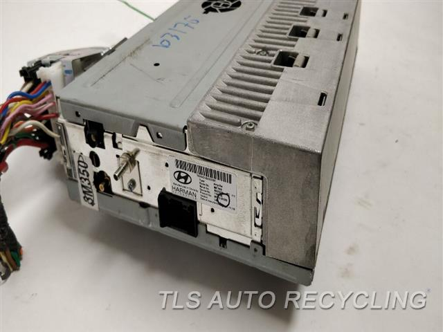2012 Hyundai Genesis Radio Audio / Amp  963703M350,AMPLIFIER W NAVIGATION