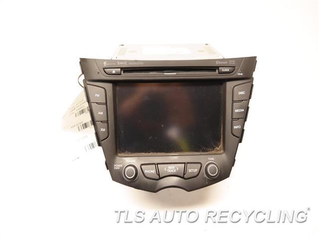 2013 Hyundai Veloster Radio Audio / Amp 955602V730 DISPLAY, RECEIVER, W/O NAVIGATION