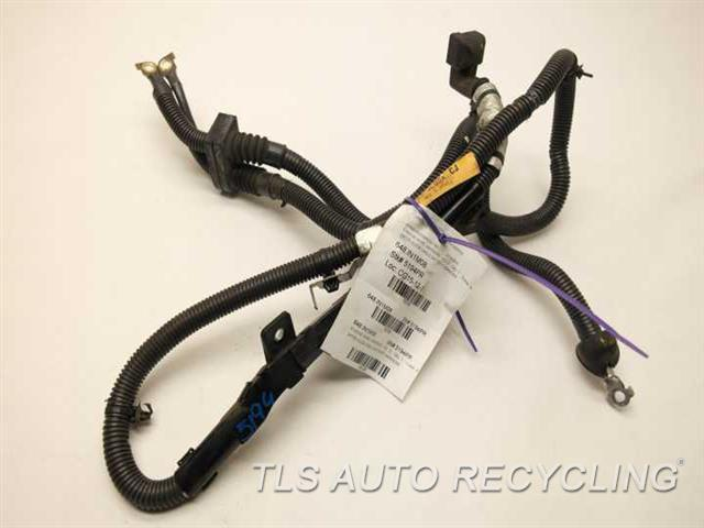 Infiniti g engine wire harness jl a used