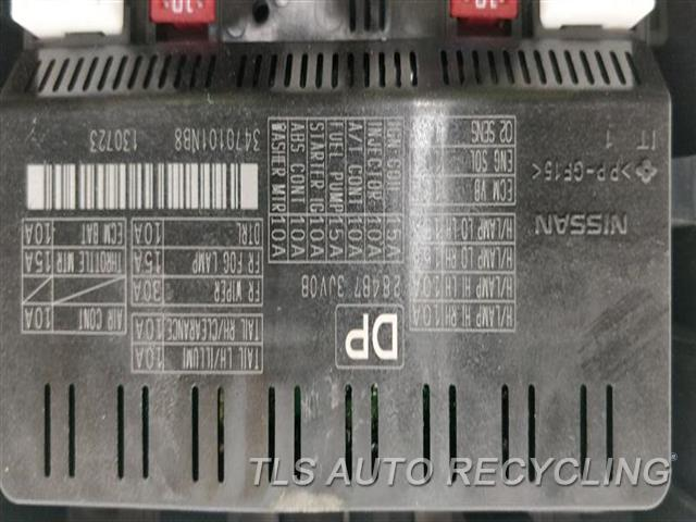 2014 Infiniti Q50 Chassis Cont Mod  SUPPLY CONTROL MODULE