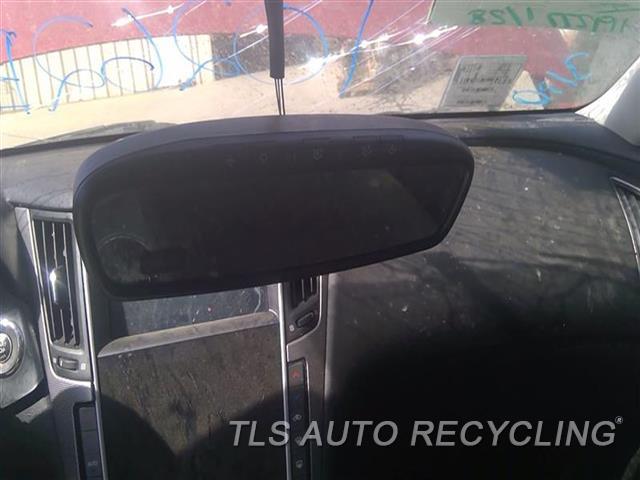 2014 Infiniti Q50 Rear View Mirror Interior  BLK,W/O PRE-CRASH SYSTEM, NAVIGATIO