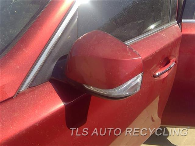 2014 Infiniti Q50 Side View Mirror  LH,RED,POWER, (HEATED), AUTOMATIC D