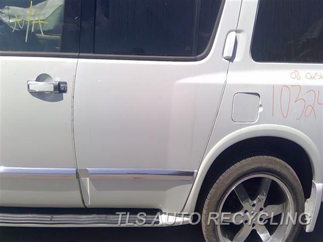2008 Infiniti Qx56 Door Assembly, Rear Side  000,LH,WHT,(ELECTRIC), L.