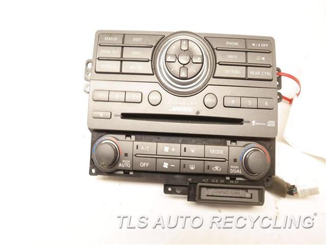 2008 Infiniti Qx56 Radio Audio / Amp PANEL, HAS SCRATCH 28395ZQ10A AUDIO/NAVIGATION CONTROL
