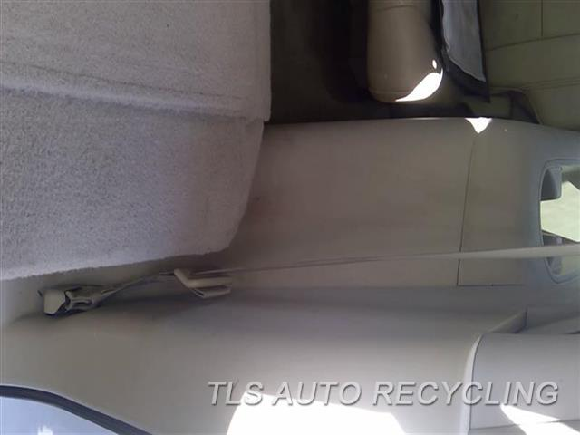 2008 Infiniti Qx56 Seat Belt Rear  LH TAN REAR OUTER