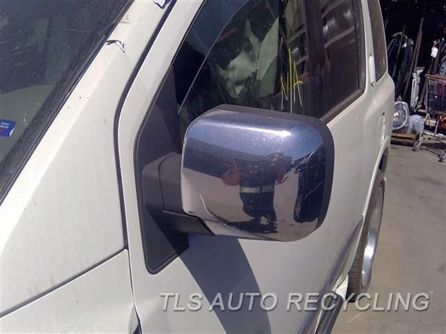 2008 Infiniti Qx56 Side View Mirror  LH,CHROME,POWER, (POWER FOLDING-HEA