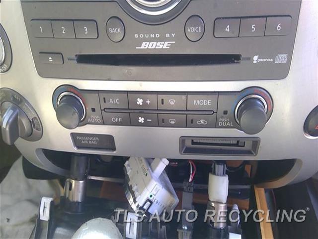 2008 Infiniti Qx56 Temp Control Unit  AC CONTROL FRONT