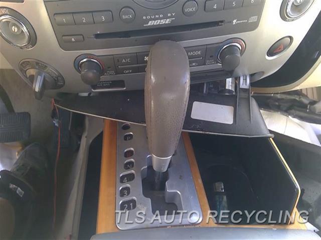 2008 Infiniti Qx56 Transmission Shifter  SHIFTER