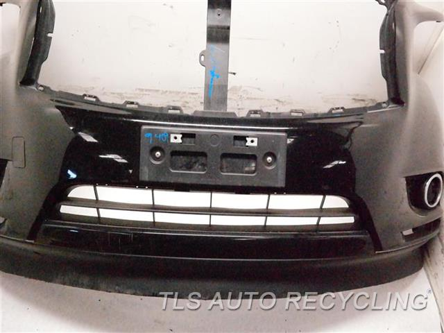 2014 Infiniti Qx60 Bumper Cover Front MINOR SCRATCHES ON LOWER SECTION BLK,(FOG LAMPS), 3.5L GASOLINE