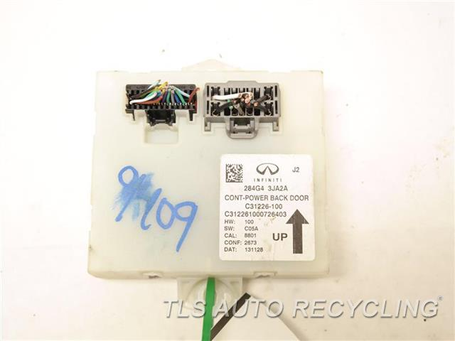 2014 Infiniti Qx60 Chassis Cont Mod  284G43JA2A LIFTGATE CONTROL MODULE