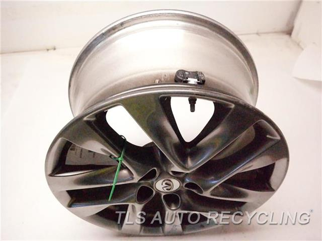 2014 Infiniti Qx60 Wheel MINOR SCRATCHES 18X7-1/2 GRAY ALLOY WHEEL, 10 SPOKE