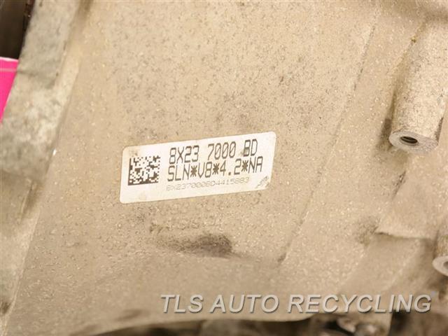 2009 Jaguar Xf Transmission  AUTOMATIC TRANSMISSION 1 YR WARRANTY