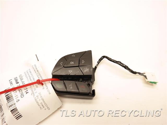 2014 Jeep Grandcher Dash Switch  STEERING RADIO CONTROL 68245341AC