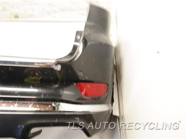 2015 Jeep Grandcher Bumper Cover Rear   DRIVER SIDE HAS DEEP SCUFFS BLK, BUMPER, TRAILER HITCH