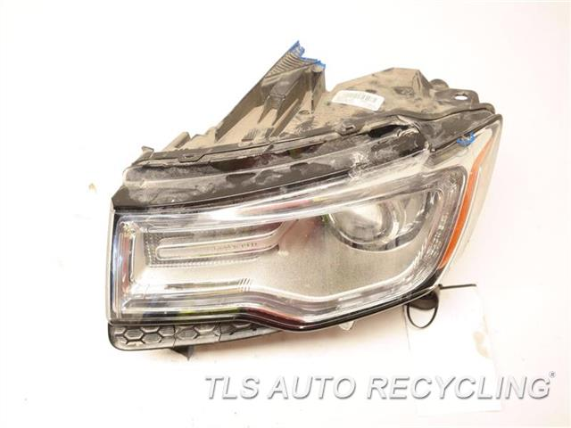 2015 Jeep Grandcher Headlamp Assembly TWO DAMAGE  TABS, HOUSING HAS HOLE, GLASS HAS SMALL STRESS CRACK INSIDE LH,SUMMIT (ADAPTIVE HID) NIQ