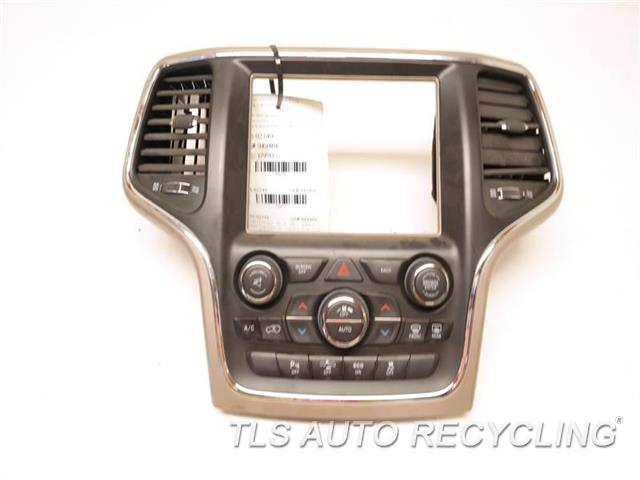 2015 Jeep Grandcher Temp Control Unit W/AC VENT  P05091842AF BRWN,TEMPERATURE CONTROL,DUAL ZONE