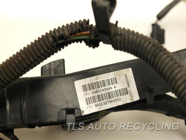 2006 jeep liberty wiring harness 2006 jeep liberty engine wire harness - 4801258ab - used ... #8