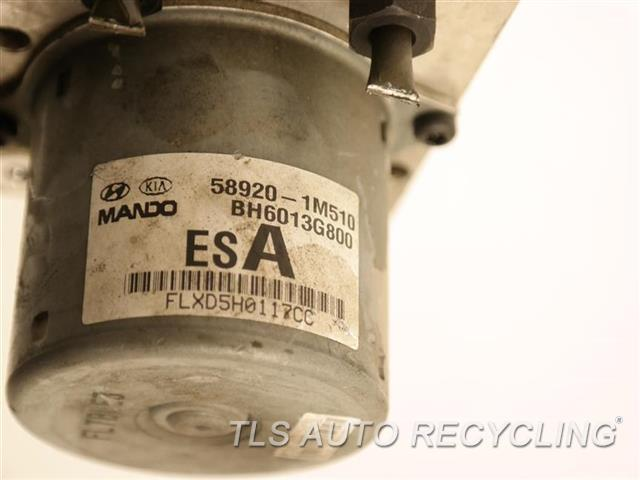 2011 Kia Forte Abs Pump BE6003G801 ABS,ACTUATOR AND PUMP ASSEMBLY