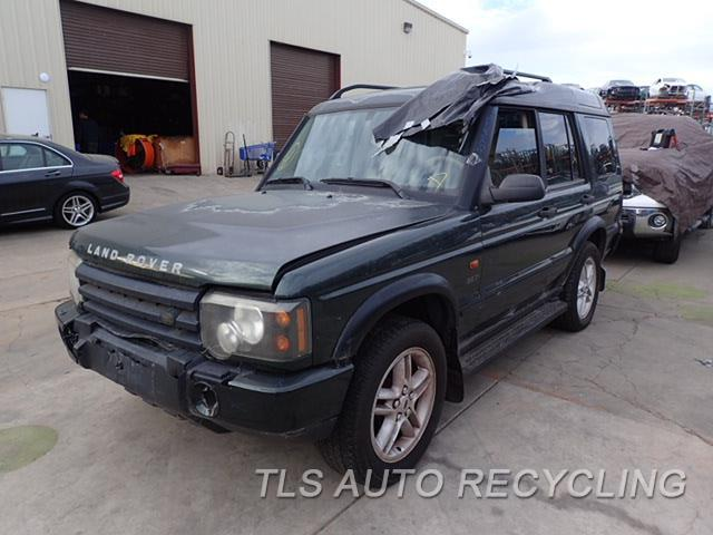 2003 Land Rover DISCOVERY Parts Stock# 7547GR