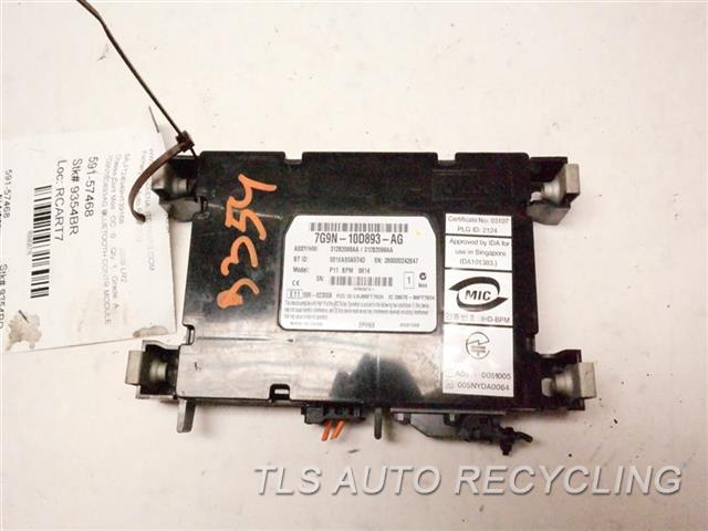 2009 Land Rover Lr2 Chassis Cont Mod  7G9N10D893AG BLUETOOTH CONTR.MODULE