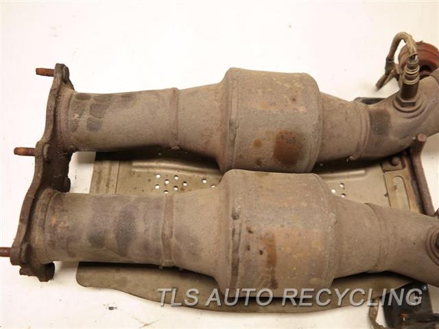 2009 Land Rover Lr2 Exhaust Pipe  FRONT EXHAUST PIPE LR006148