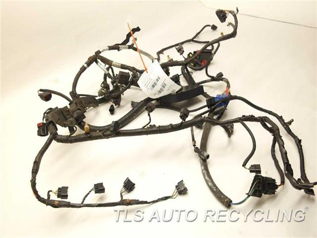 Damaged Wiring Harness : Land rover lr engine wire harness damaged