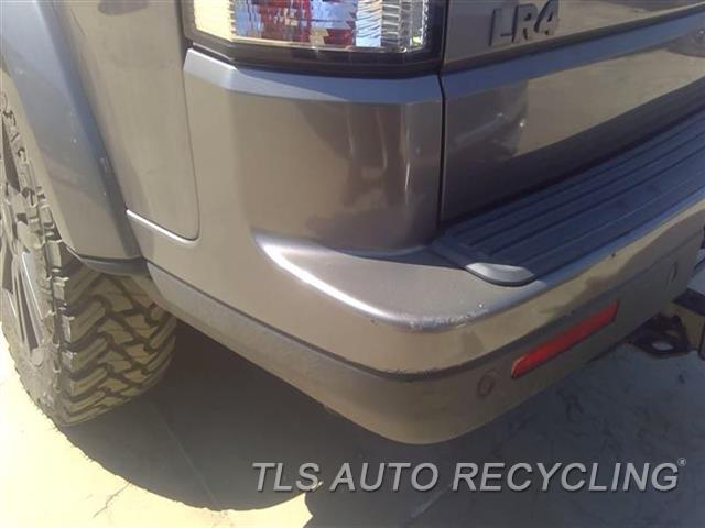 2011 Land Rover Lr4 Bumper Cover Rear   SCRATCHES LH SIDE 1S1,GRY,(PARK ASSIST)